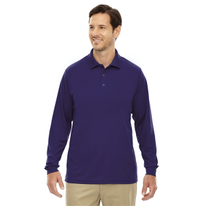 Core 365 Men's Pinnacle Performance Long-Sleeve Pique Polo