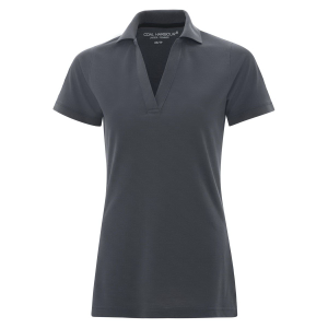 Coal Harbour Ladies' Comfort Pique Soil Release Sport Shirt