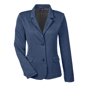 Devon & Jones Fairfield Herringbone Soft Blazer - Ladies