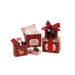 Plaid Tidings Holiday Sweets Tower
