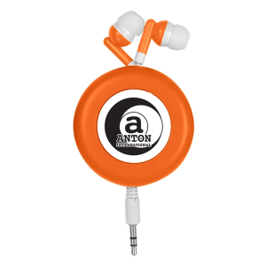 Retro Retractable Earbuds