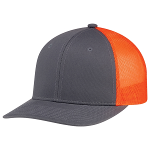 6 Panel Constructed Pro-Round (Mesh Back)