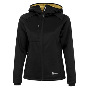 DRYFRAME® Bonded Tech Fleece Full Zip Hooded Ladies' Jacket